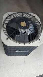 Used central air conditioner , good condition!