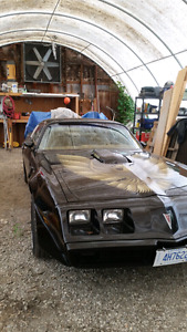 1979 trans am . Must sell asap.