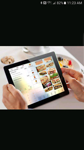 Restaurant equipment  POS Point of Sale / menu  board system