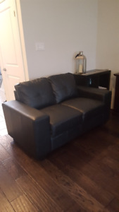 Brand new condition Black IKEA Couch $250