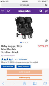 Looking For A Car Seat Adaptor The City Mini Double Stroller