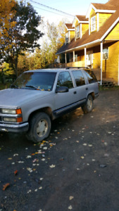 Chevy tahoe for partd