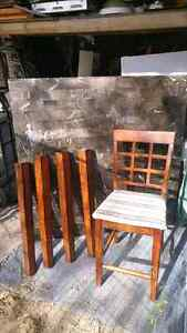 Marble Top Table and 4 Chairs