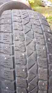2 Arctic Claw studded tires 205/55/16.