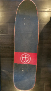 """Used """"Keep Calm and Carry On"""" Homegrown Skateboard"""