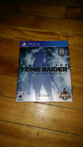 Rise of the Tomb Raider PS4 Special Edition