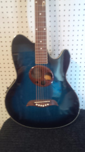 MANSFIELD ACOUSTIC ELECTRIC GUITAR  (OVATION STYLE)