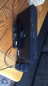 Sony Speaker System and Clock Radio with iPod Dock, Black Stratford Kitchener Area image 3