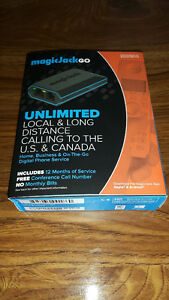 Magic Jack, unlimitted calling for 12 months, US & Canada