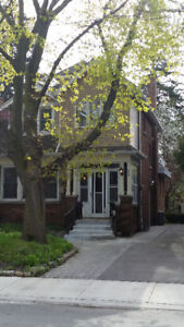 Basement Rooms in Female house near McMaster/Available May1