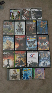 PS1/PS2/PS3 games for sale / trade