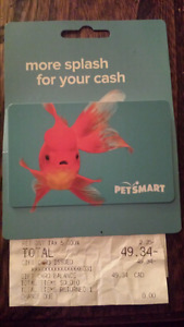 PetSmart Gift Card - 20% Off! $50 for  Only $40!