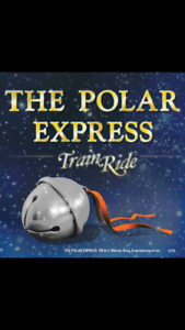ISO two polar express train tickets