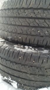 "Pair of 205/65/16"" Tires"