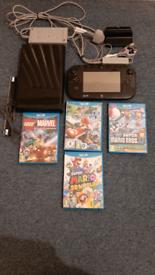 Wii U Premium and 4 Games