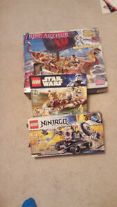 Lego, Star Wars, Ninjago, King Arthur