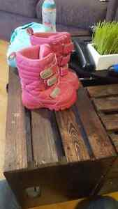 Fall Jacket size 12m and toddler 5 boots