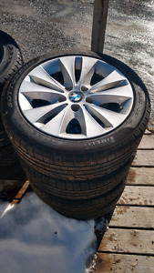 225 45r17 pirelli tires bmw 3 series rims like new!!
