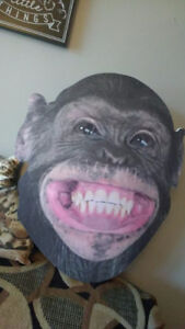 Large masque singe adulte MONKEY MASK ***I SHIP***