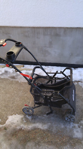 Car seat stroller with cup holders!