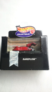 HOT WHEELS COLLECTIBLES RAREFLOW DIE CAST REAL RIDER 1:64