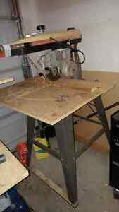 "Dewalt 740 - 10"" Radial arm saw - with stand London Ontario image 1"