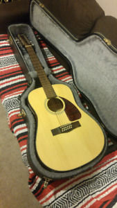 Fender 12 String Acoustic/Electric w Case