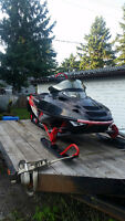 Polaris 700 RMK + Trailer