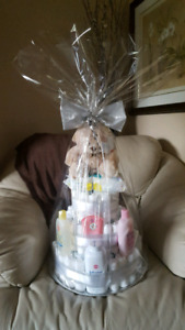 Diaper Cakes -- Baby Showers, Diaper Parties, Day of Birth Gifts