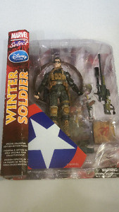 Marvel Select Captain America The Winter Soldier Action Figure