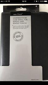 Black Leather Kindle Case