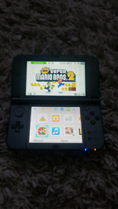 3DS XL with 4 games