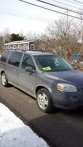 2007 Chevrolet Uplander gray Minivan, Van