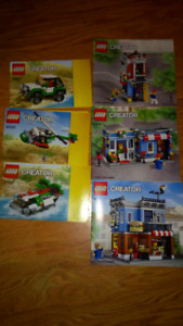 LEGO Two 3 in 1 Creator sets + Christmas Advent calendar