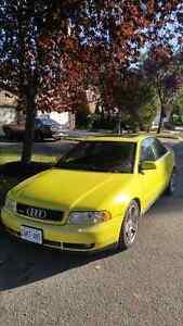 SOLD - 2001 Audi A4 B5 Quattro in Imola Yellow