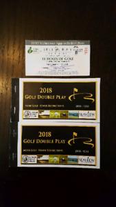 Golf coupon book