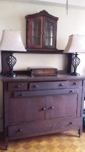 Estate Moving Sale  Cabinet Needs pickup right away