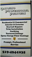 Ontario Pro Painters- INTERIOR and EXTERIOR Painting