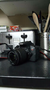 Canon t5i with tons of accessories
