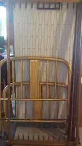 Older twin bed frame