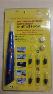 Christmas Light String Tester & Repair Kit