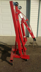 Engine hoist for rent Calgary Area