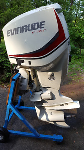 2014 Evinrude ETEC 175HP Fuel Injected 2 stroke Outboard