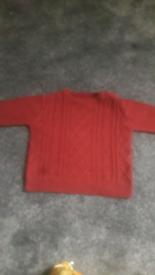 boys woolly jumper