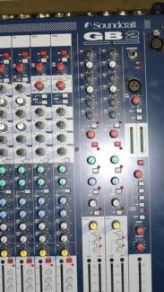 SOUNDCRAFT GB2 24/4 MIXING CONSOLE & ROADCASE