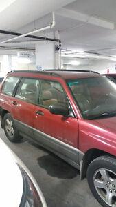 1999 Subaru Forester Burgandy Wagon