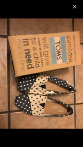 Toms shoes-size 7-worn once. Mint condition!