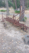 Old Farming Plough Macedon Macedon Ranges Preview