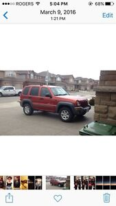 2002 Jeep Liberty sport Great condition