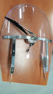 USED HARLEY-DAVIDSON WINDSHIELD SOFTAIL FAT BOY FLSTF HERITAGE